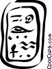 Egyptian hieroglyphics Vector Clip Art graphic