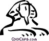 Sphinx Vector Clipart illustration