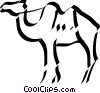 Vector Clipart picture  of a camel