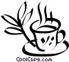 cup of tea Vector Clipart picture