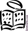 Vector Clipart graphic  of a Jewish faith