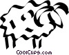 sheep Vector Clipart picture