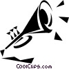 trumpet Vector Clipart picture