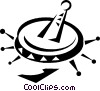 Vector Clipart illustration  of a Mexican sombrero