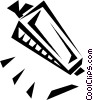 Vector Clipart image  of a harmonica