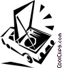 Vector Clip Art graphic  of a Repair and Maintenance