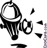 Vector Clipart picture  of a fire hydrant