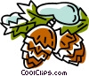pinecones Vector Clipart picture