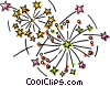 fireworks Vector Clipart picture