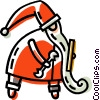 Santa Vector Clipart illustration