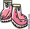 winter boots Vector Clip Art picture