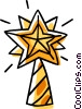 Christmas star Vector Clip Art picture