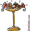 Vector Clipart image  of a chocolate candies