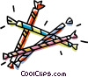 Vector Clip Art graphic  of a party favors