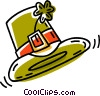 Vector Clipart picture  of a St.. Patrick's day hat