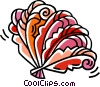 Vector Clipart graphic  of a oriental hand fans