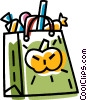 Halloween bag Vector Clipart picture