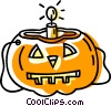 Halloween pumpkin Vector Clip Art graphic