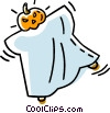 Vector Clipart image  of a Halloween costume