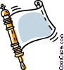 Vector Clipart graphic  of a Torah