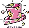 Vector Clipart graphic  of a magicians hat