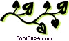 Vector Clipart picture  of a leaves