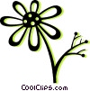 daisy Vector Clipart graphic