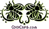 flies Vector Clip Art picture