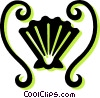 Vector Clip Art picture  of a sea shell