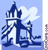 Tower Bridge, London Vector Clipart picture