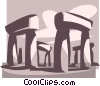 Stonehenge Vector Clip Art graphic