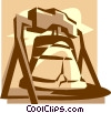 Vector Clipart image  of a Liberty Bell