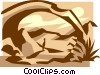 Vector Clipart illustration  of an Arches National Park