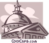 Vector Clip Art graphic  of a Boston
