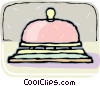 Vector Clipart image  of a Front desk bell