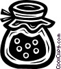 Vector Clipart graphic  of a jam