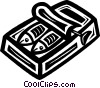 Vector Clip Art graphic  of a sardines