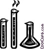 test tubes Vector Clip Art graphic
