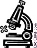 Vector Clipart image  of a microscopes