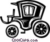 Vector Clip Art image  of a vintage automobile