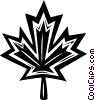 maple leaf Vector Clip Art image