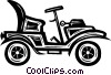 antique automobile Vector Clipart image