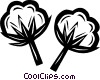 cotton Vector Clip Art graphic