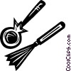 Vector Clip Art picture  of a percussive instruments