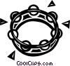 tambourine Vector Clip Art picture