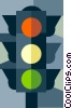 traffic light Vector Clipart picture