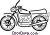 Street Bikes Vector Clipart illustration
