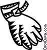 Gloves Vector Clipart graphic