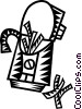 Vector Clip Art graphic  of a French Fries