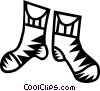 Vector Clipart graphic  of a socks